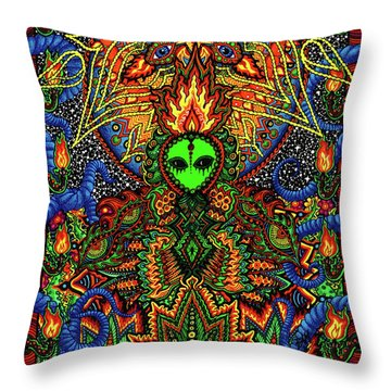 How Do You Like It Here Throw Pillow