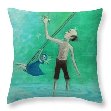 How High Can I Fly? Throw Pillow