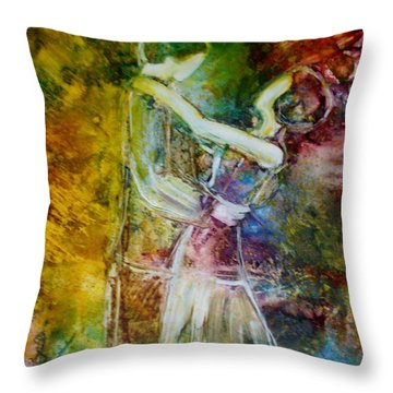 How I Love You Throw Pillow