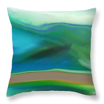 How It Feels Throw Pillow