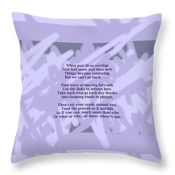 How Now Poem Throw Pillow