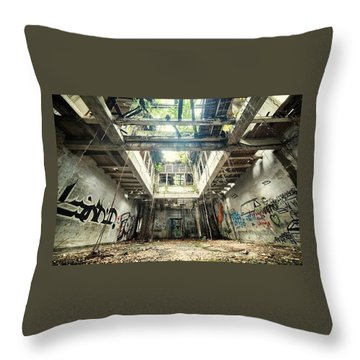 Throw Pillow featuring the photograph How Long Was I Really Away / Art Abstract by Sheila Mcdonald
