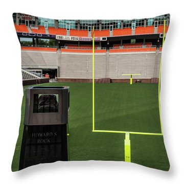 Howard's Rock Throw Pillow