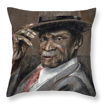 Howdy Ma'am Throw Pillow by Marty Garland