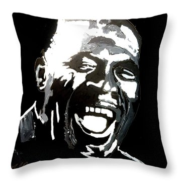 howlin Wolf Throw Pillow