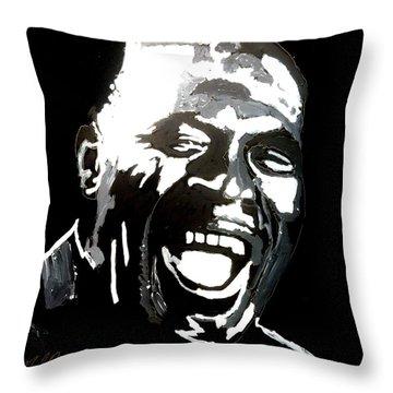 howlin Wolf Throw Pillow