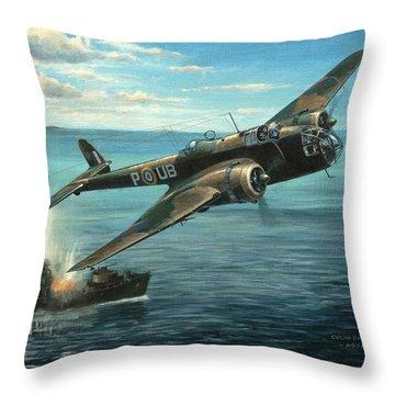 'hp Hampden' Throw Pillow by Colin Parker