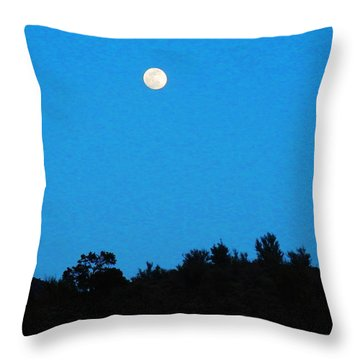 Hualapai Night Throw Pillow