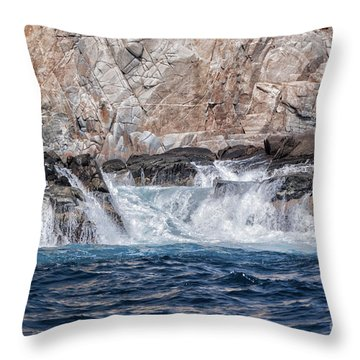 Huatulco's Texture Throw Pillow