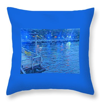 Hudson Electric Throw Pillow