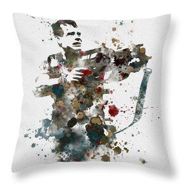 Hudson Throw Pillow by Rebecca Jenkins