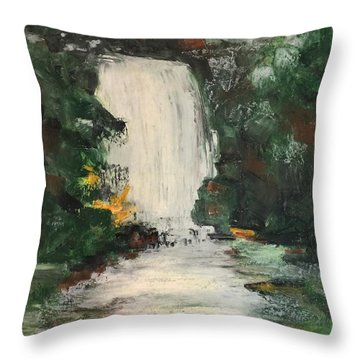 Huerquehue  Throw Pillow