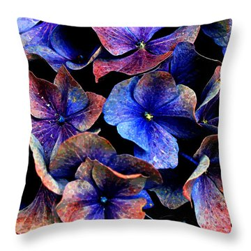 Throw Pillow featuring the digital art Hues by Julian Perry