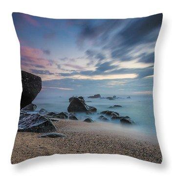 Hues Of Dawn Throw Pillow