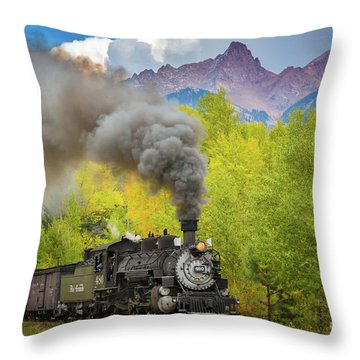 Huffing And Puffing Throw Pillow