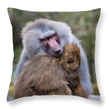 Throw Pillow featuring the photograph Hug Me by Scott Carruthers