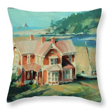 Hughes House Throw Pillow