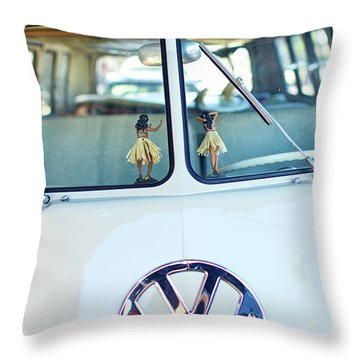 Throw Pillow featuring the photograph Hula 2 by Nik West