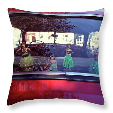 Throw Pillow featuring the photograph Hula by Nik West