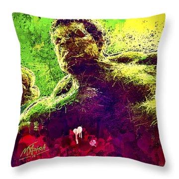 Hulk Smash Throw Pillow