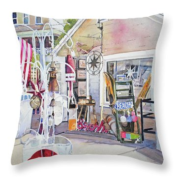 Hull Of A Shoppe Throw Pillow