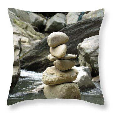 Hum Throw Pillow