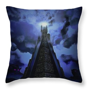 Humanity's Last Stand Throw Pillow