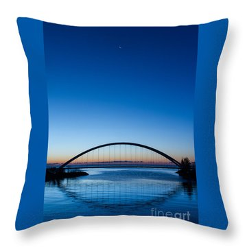 Humber River Dawn Throw Pillow
