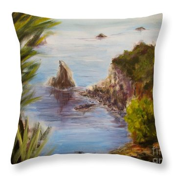 Humboldt Cove Throw Pillow