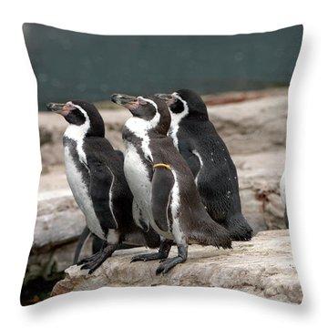 Humboldt Penguins Throw Pillow