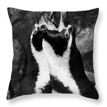 Humboldt Penguins Throw Pillow