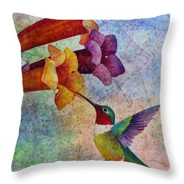 Humming Bird Throw Pillows