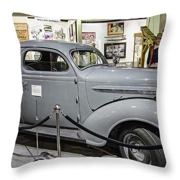 Humphrey Bogart High Sierra Car Throw Pillow