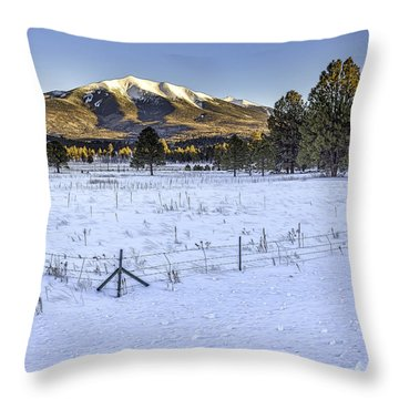 Humphreys Peak Throw Pillow