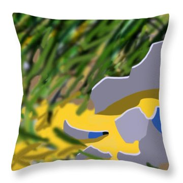 Humpty Throw Pillow