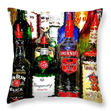 Hung Over Throw Pillow
