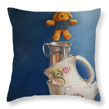 Hung Up Throw Pillow