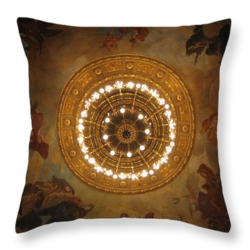 Hungarian State Opera House For Prints Throw Pillow