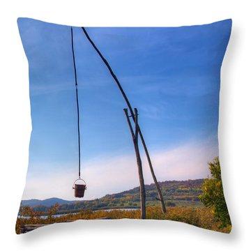 Hungarian Well Throw Pillow