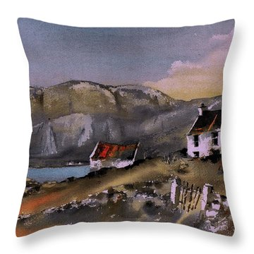 Hungry Hill Ardigole West Cork Throw Pillow