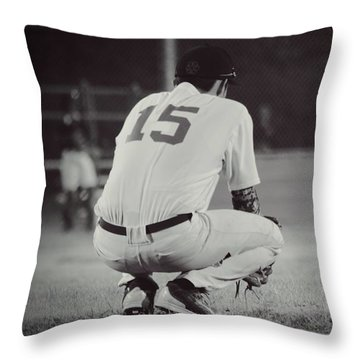 Hunker Down Throw Pillow