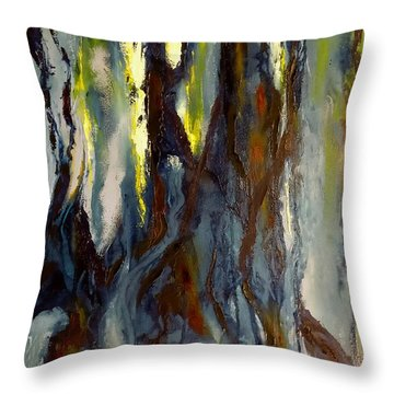 Hunted Forest Throw Pillow
