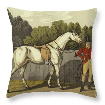 Hunter Throw Pillow