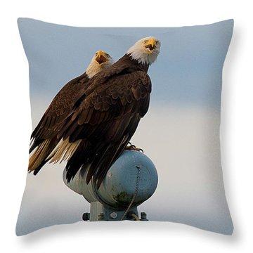 Hunting Pair Throw Pillow