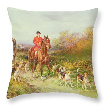 Huntsmen Throw Pillows