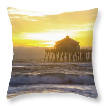 Huntington Peir 2 Throw Pillow