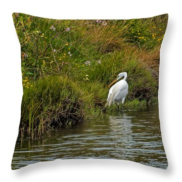 Huntress Throw Pillow by Alana Thrower