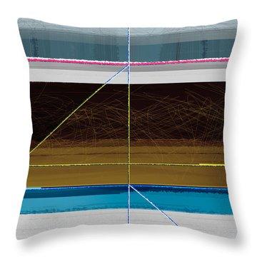 Hurricane Calm Throw Pillow