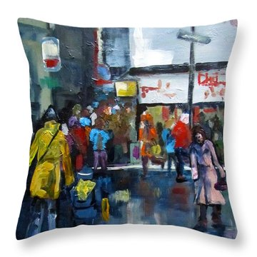 Hurry Throw Pillow