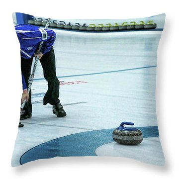 Hurry Hard Throw Pillow